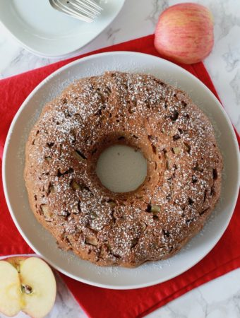 Gluten-Free Apple Honey Cake for Rosh Hashanah | www.littlechefbigappetite.com 1
