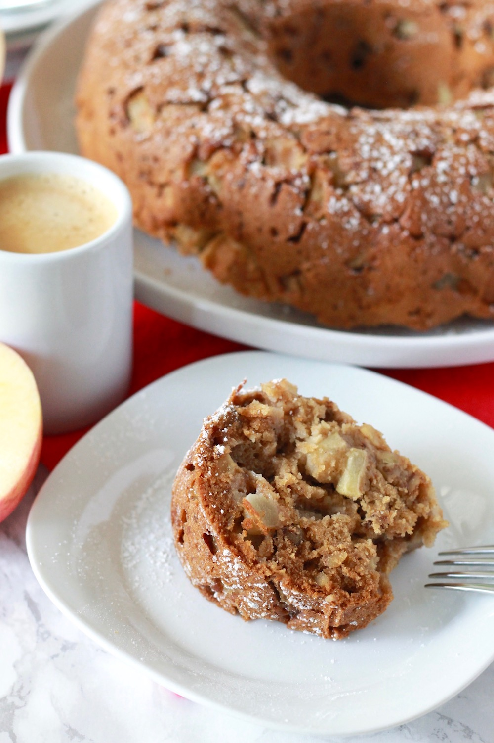 Gluten-Free Apple Honey Cake for Rosh Hashanah | www.littlechefbigappetite.com 5
