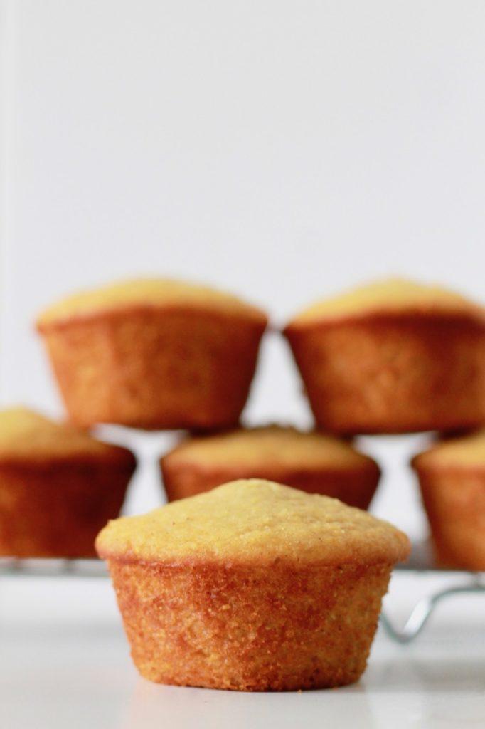 Gluten Free Cornbread Honey Muffins | littlechefbigappetite.com 6