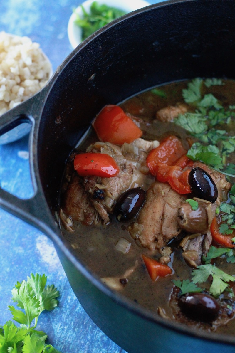 Moroccan Chicken Stew with Dates and Olives | www.littlechefbigappetite.com 5