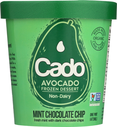 Cado Mint Chocolate Chip Ice Cream Review | littlechefbigappetite.com