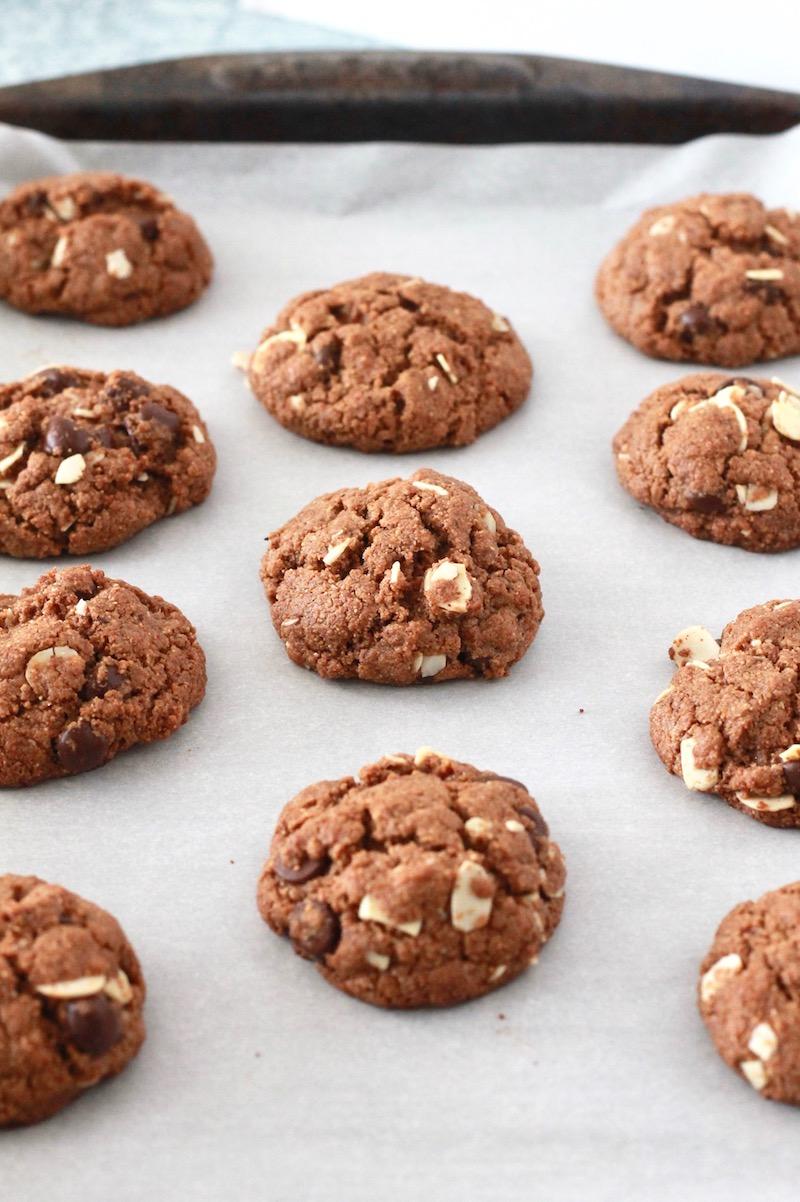 Gluten Free Almond Butter Cookies | littlechefbigappetite.com 4