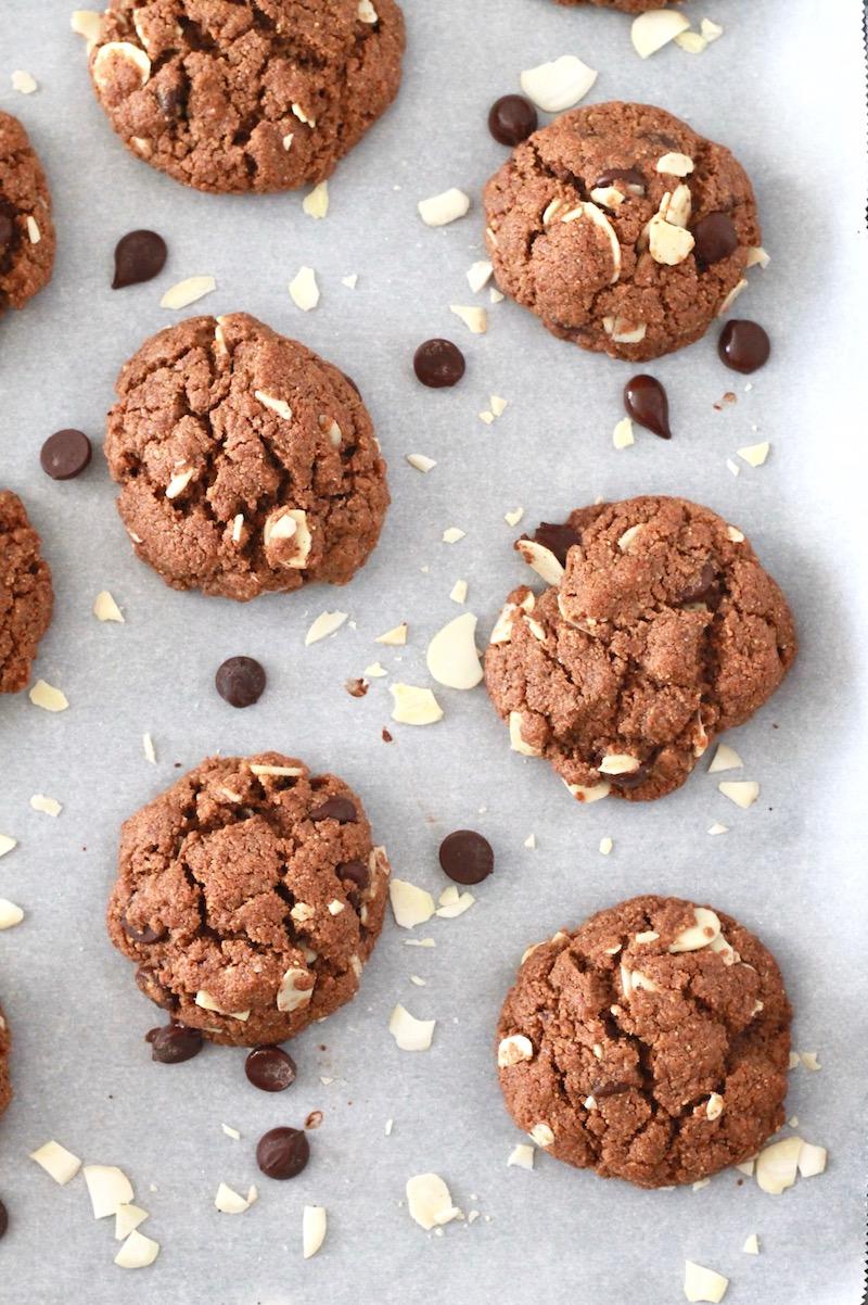 Gluten Free Almond Butter Cookies | littlechefbigappetite.com 6