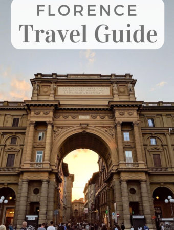Florence Travel Guide Pin | littlechefbigappetite.com