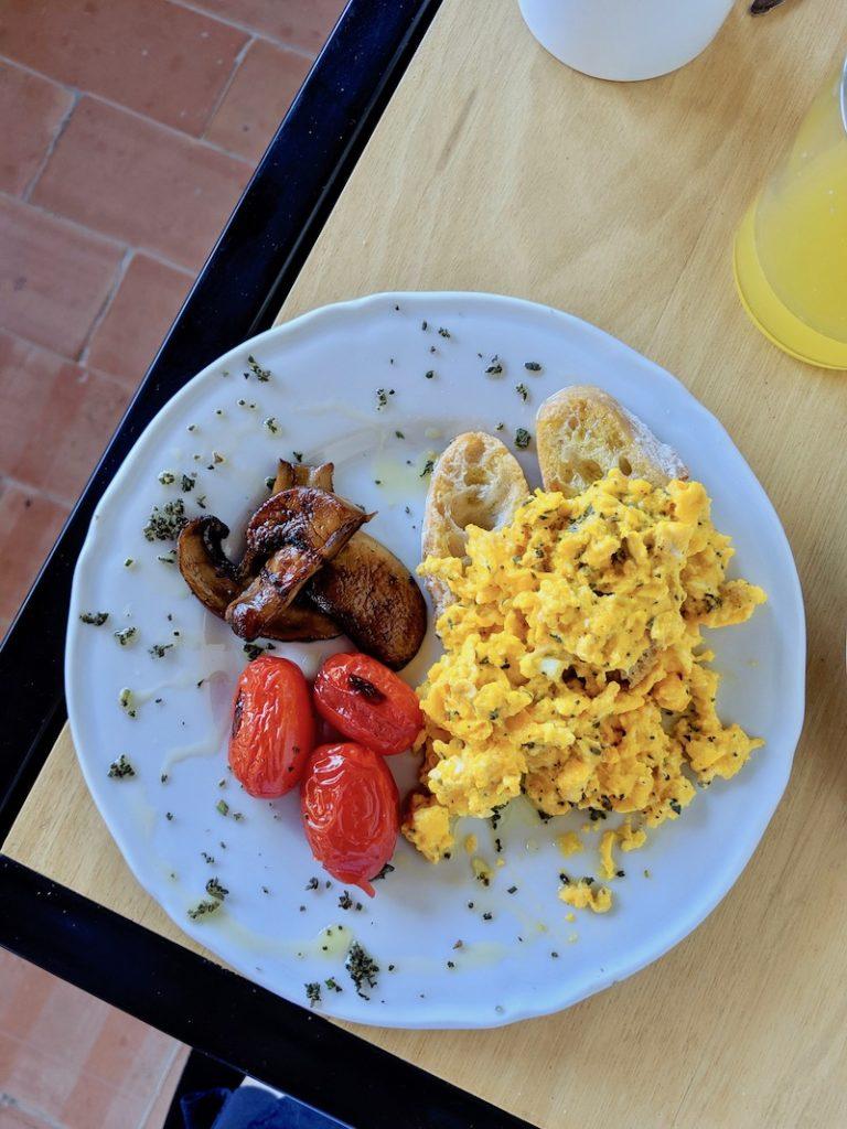 Ca Bianca Breakfast Tuscan Eggs | littlechefbigappetite.com