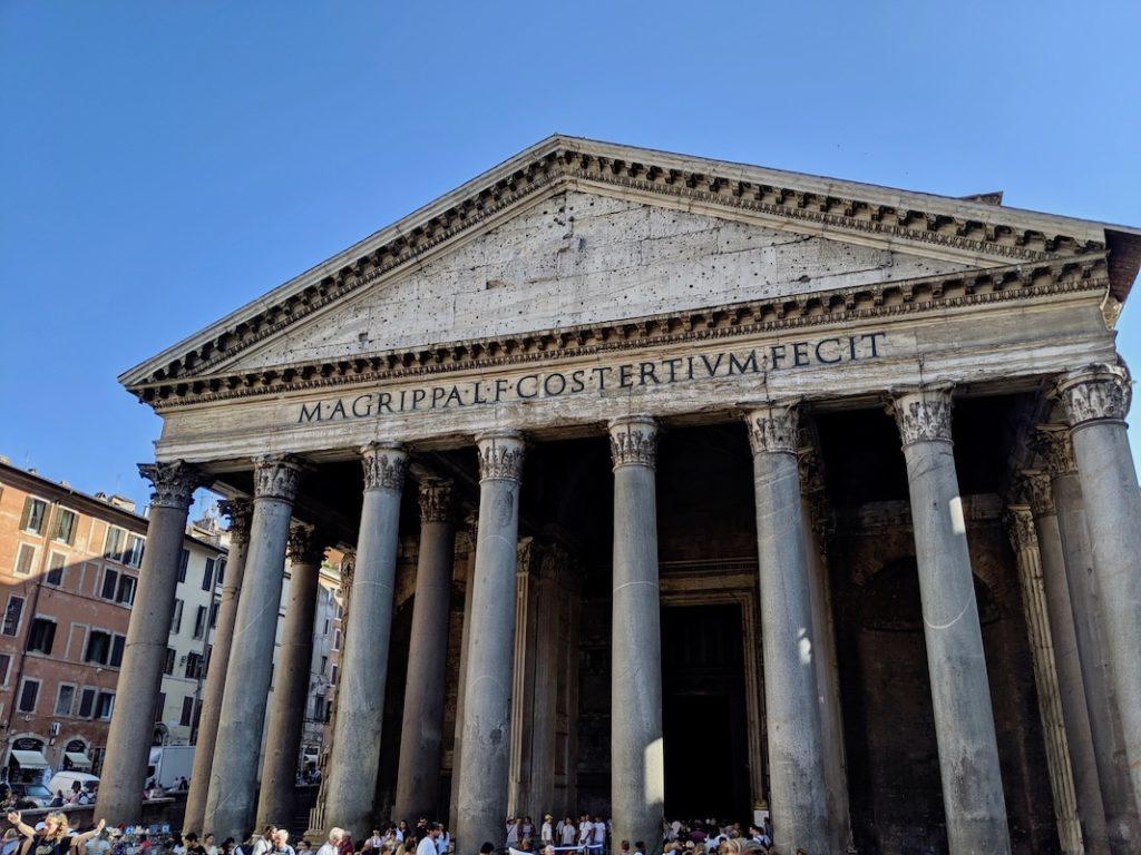 Pantheon Rome | littlechefbigappetite.com