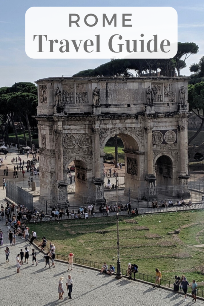 Rome Travel Guide with Text Overlay | littlechefbigappetite.com
