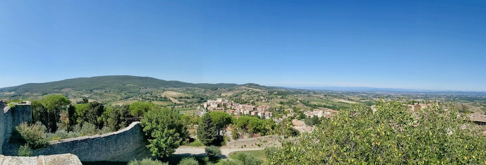 Tuscany Panorama | littlechefbigappetite.com